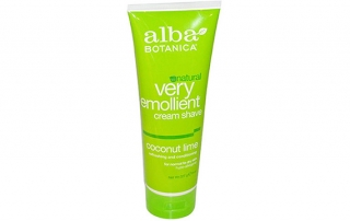 Alba-Very-Emollient-Cream-Shave,-Coconut-Lime