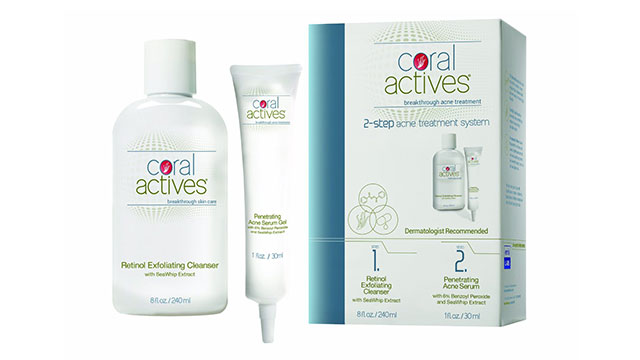 Coral Actives Complete Acne Therapy System For Adults